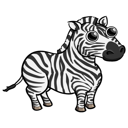 Cute Zebra Clipart - Cliparts.co