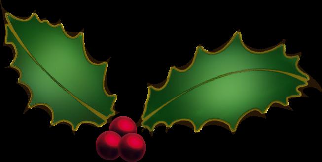 Christmas Holly Clip Art Border | quotes.