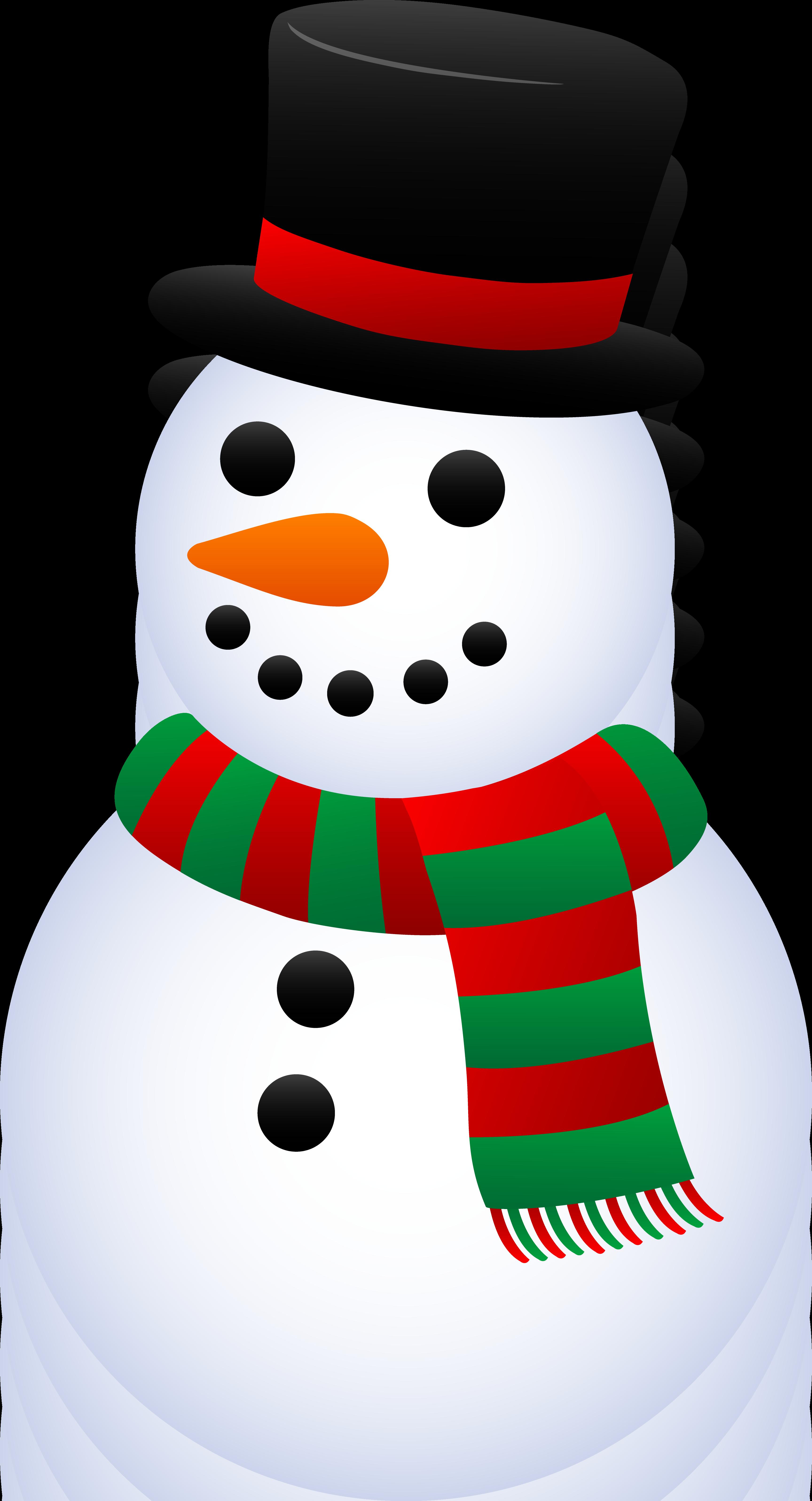 free vector clipart snowman - photo #50