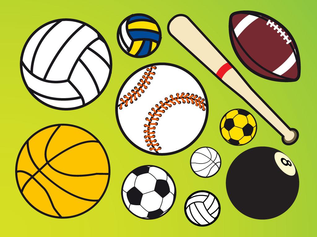 Sport Wallpaper Cartoon: Cartoon Sports Balls