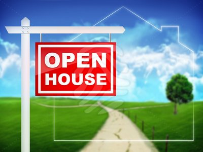 Real Estate Sign - Open House - Clipart # - Cliparts.co