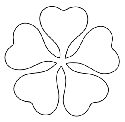 Printable Flower Templates - Cliparts.co