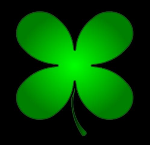 four leaf clover art cliparts co four leaf clover clip art transparent four leaf clover clip art black