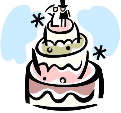 Wedding Cake Clip Art Free - ClipArt Best