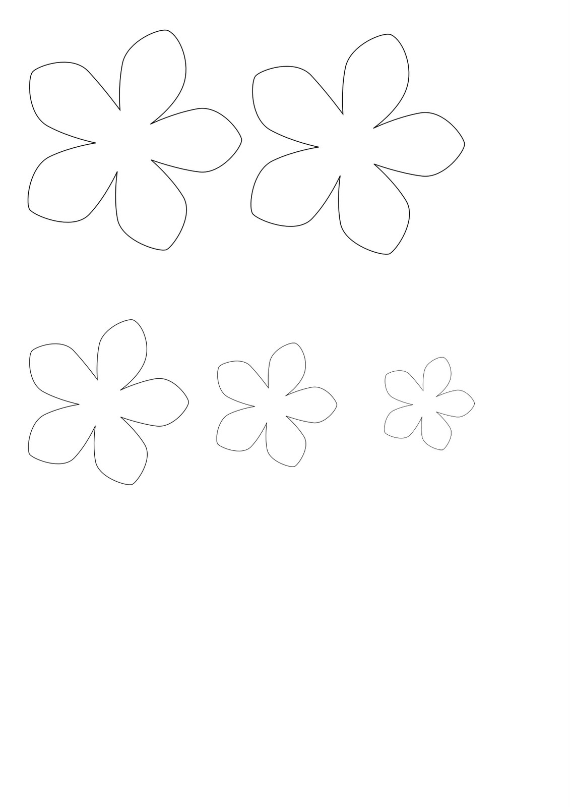 Free Coloring Pages Of Flower 8 Petals