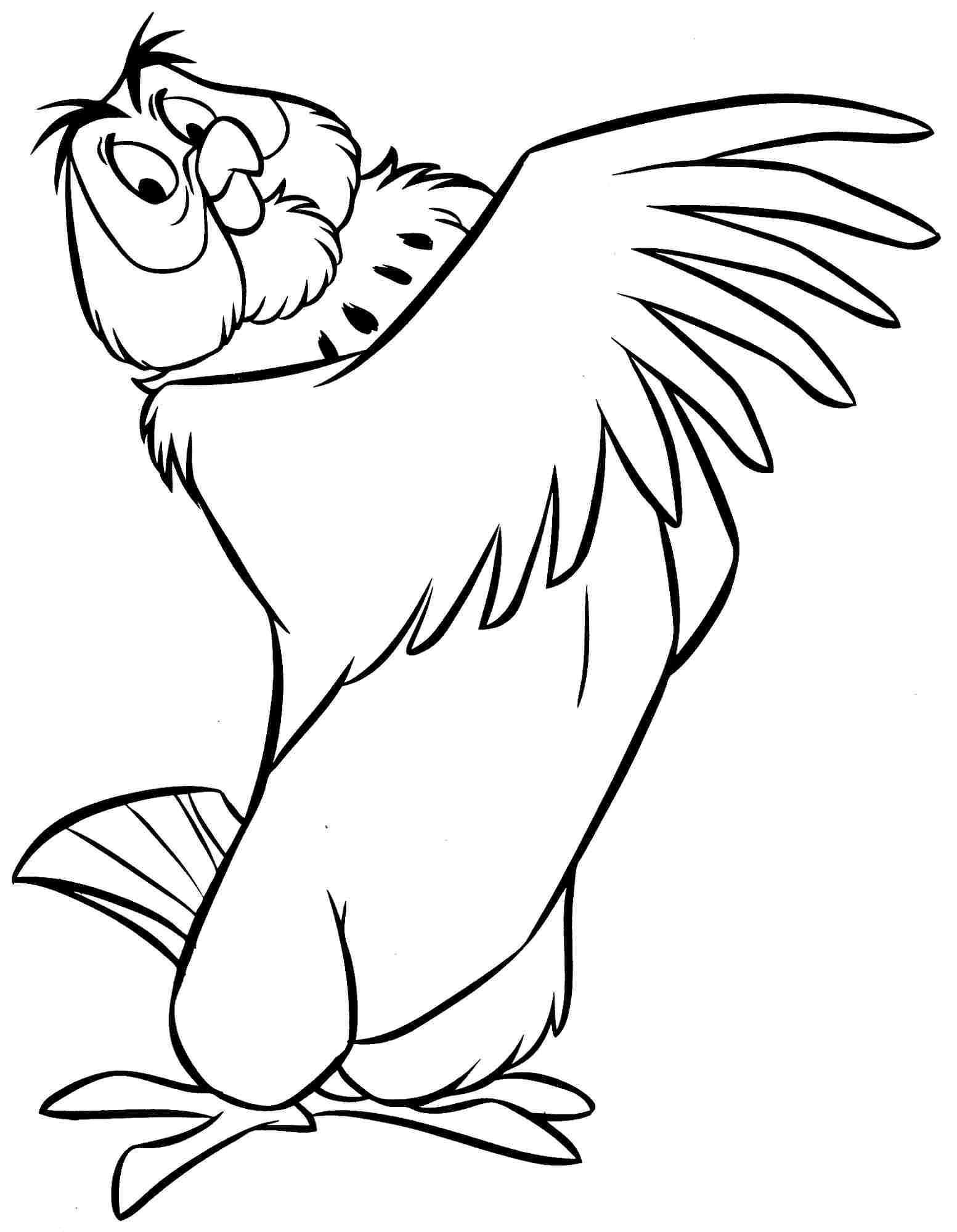 cartoon owl coloring pages cliparts co