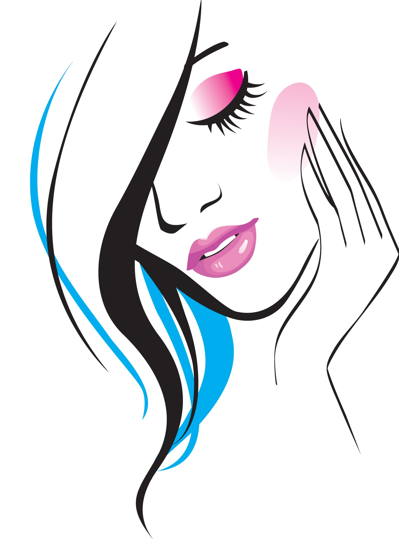 beauty salon clipart free - photo #30