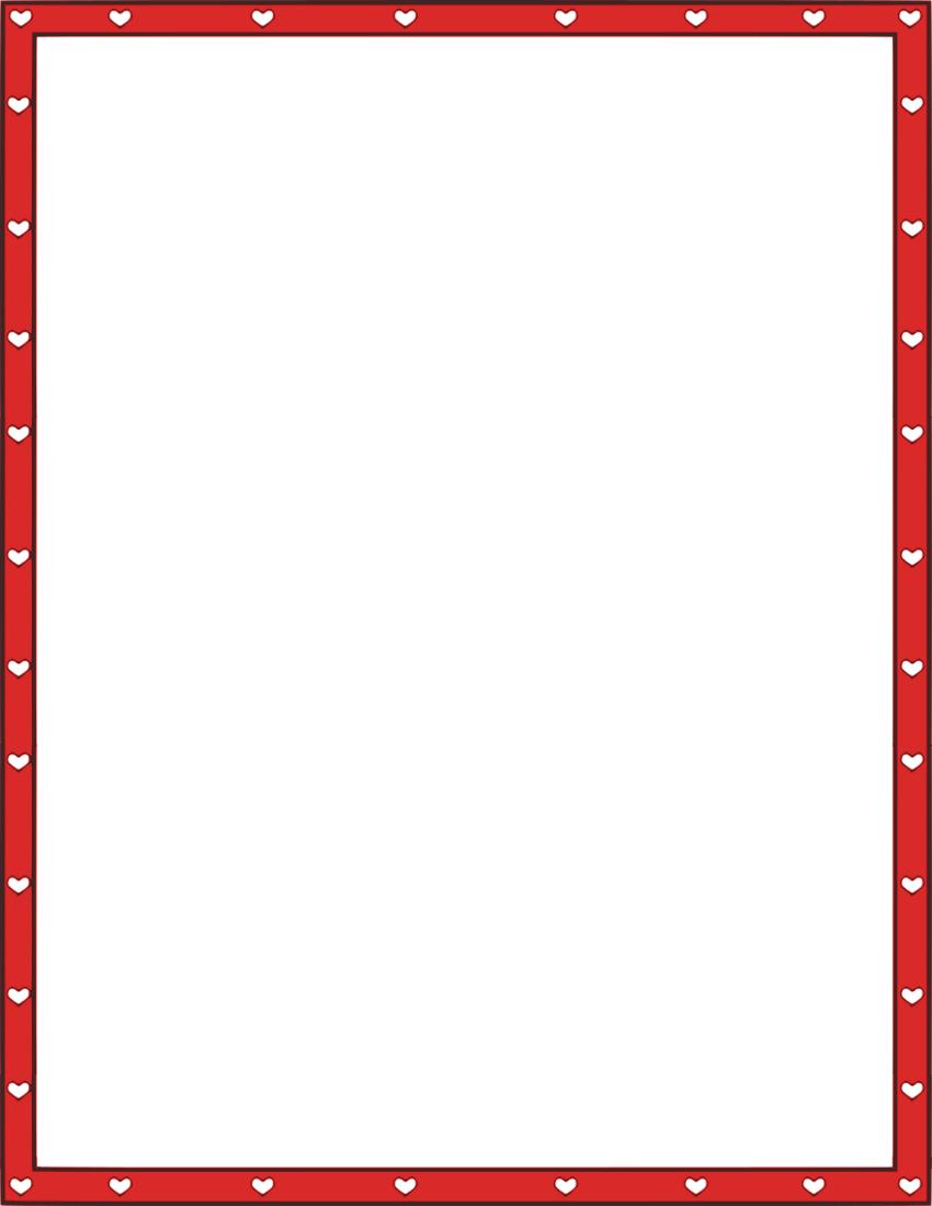 Hearts Border Clip Art Cliparts Co