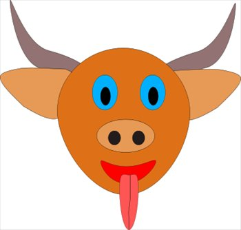 Bull Head Clip Art - Cliparts.co