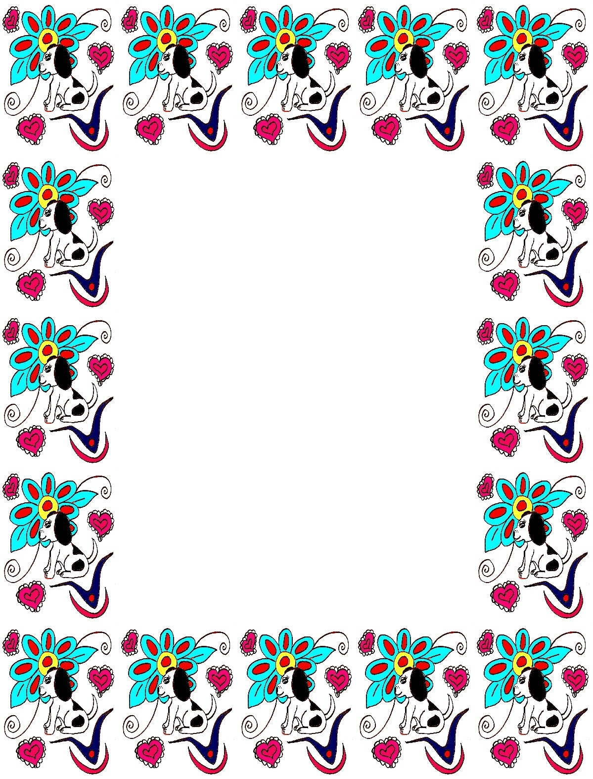 Cute Border Clipart - Cliparts.co
