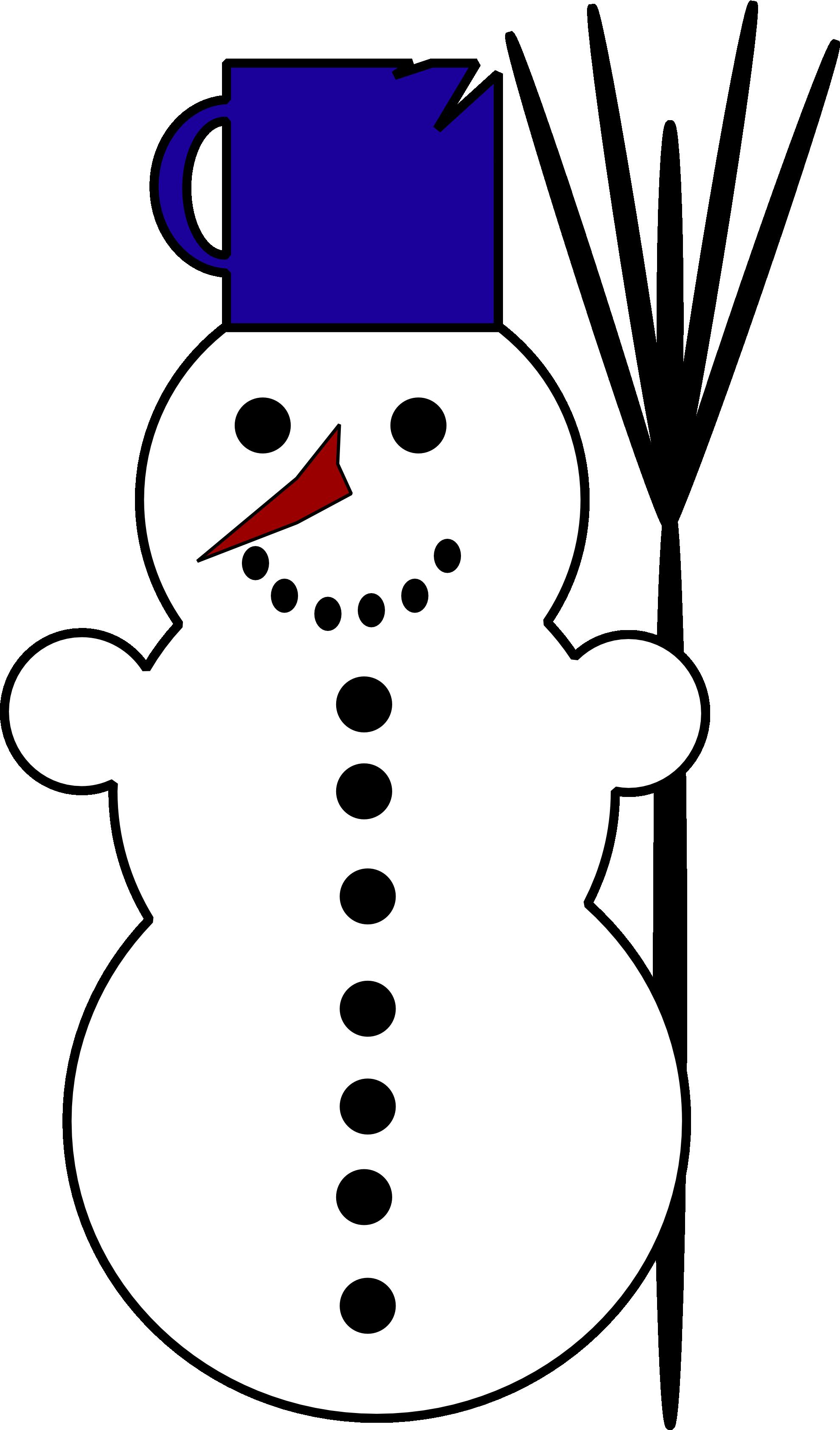 vintage snowman clipart - photo #15