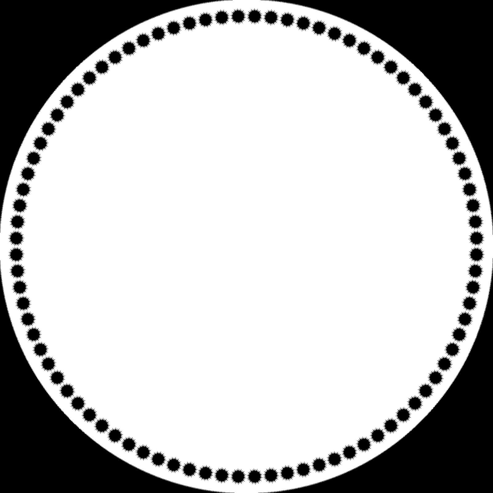 Circle Border Clip Art - Cliparts.co
