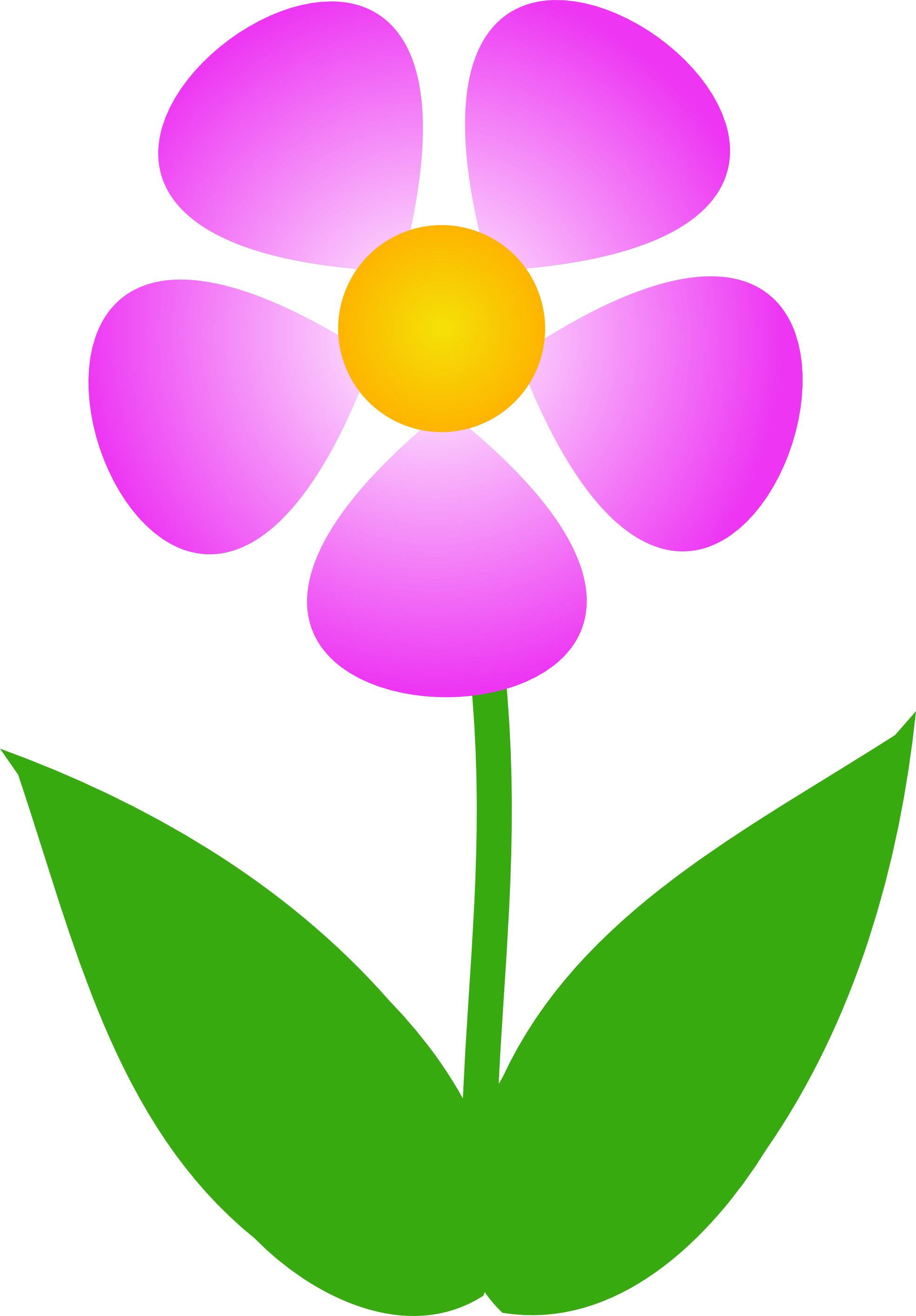 Flower Stem Clip Art - Cliparts.co