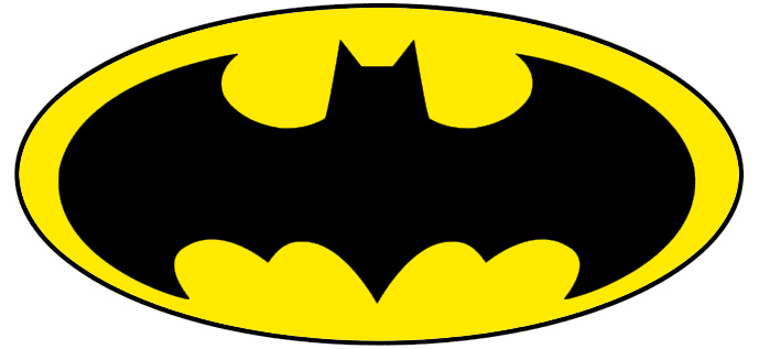 Shocking image intended for batman stencil printable