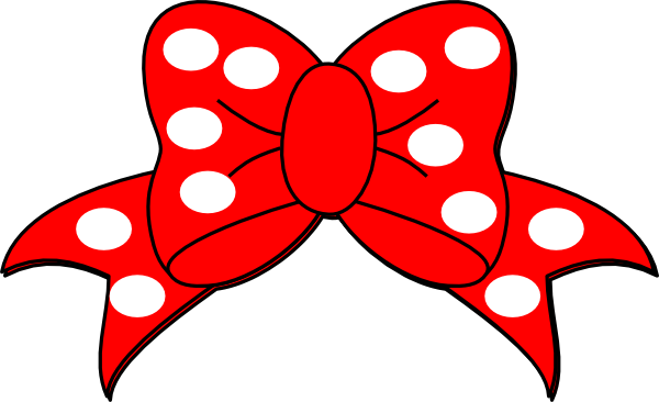 Red Minnie Mouse Bow Clip Art | Clipart Panda - Free Clipart Images ...