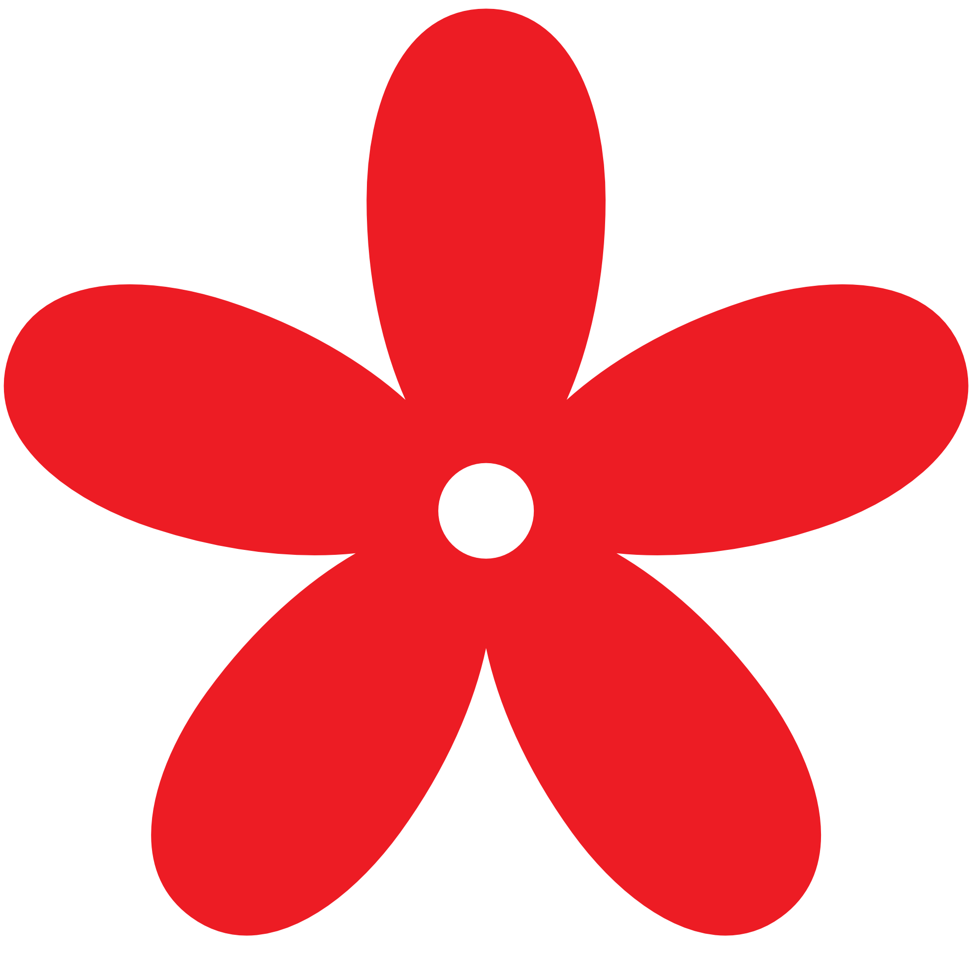 Tiny Red Flower Clip Art