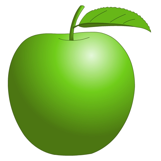 Green Apple Clipart - Cliparts.co