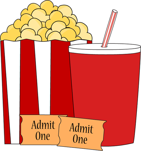 Movie Ticket Clipart Black And White | Clipart Panda - Free ...