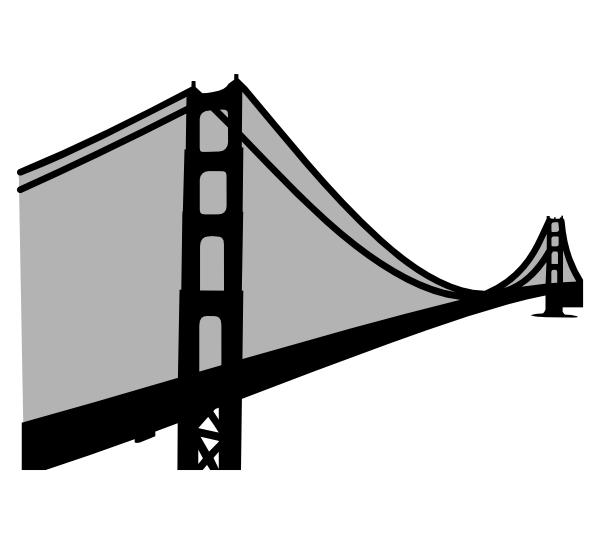 Clip Art Golden Gate Bridge Free