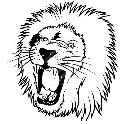 Lion Head Clipart | Cool Eyecatching tatoos