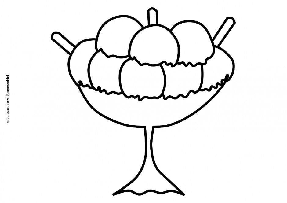 Royalty Free Rf Clipart Illustration Of A Vanilla Ice Cream 226647