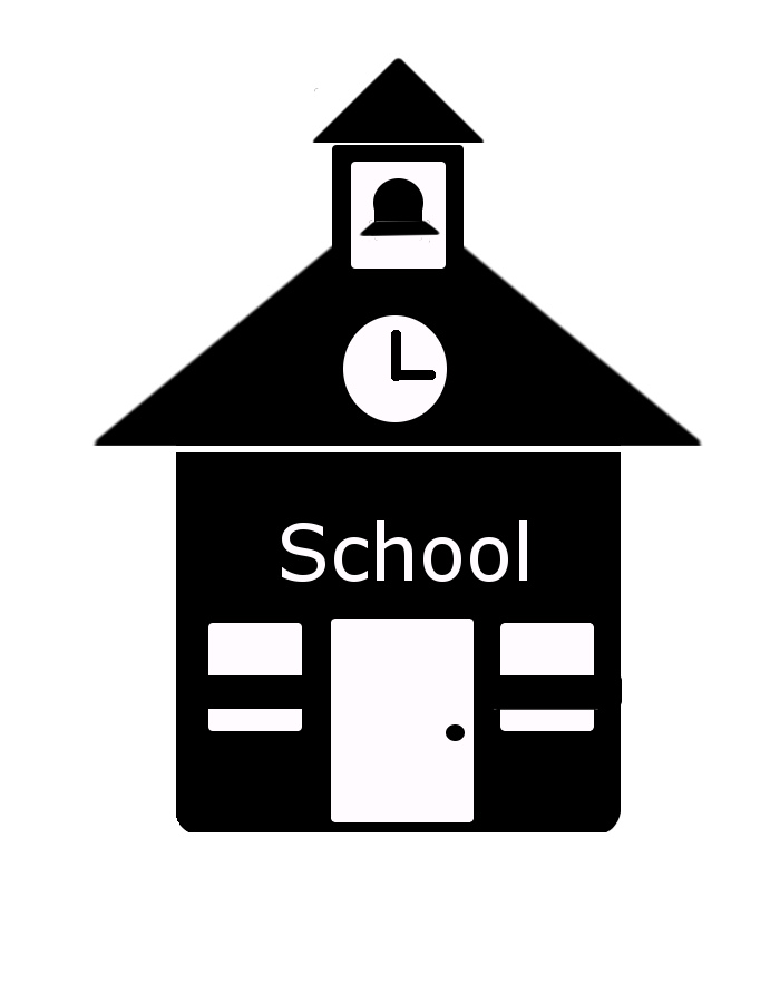 School Building Icon - Cliparts.co