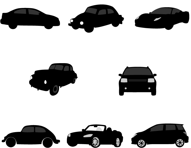 free car silhouette clip art - photo #20