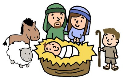 Image result for cartoon nativity