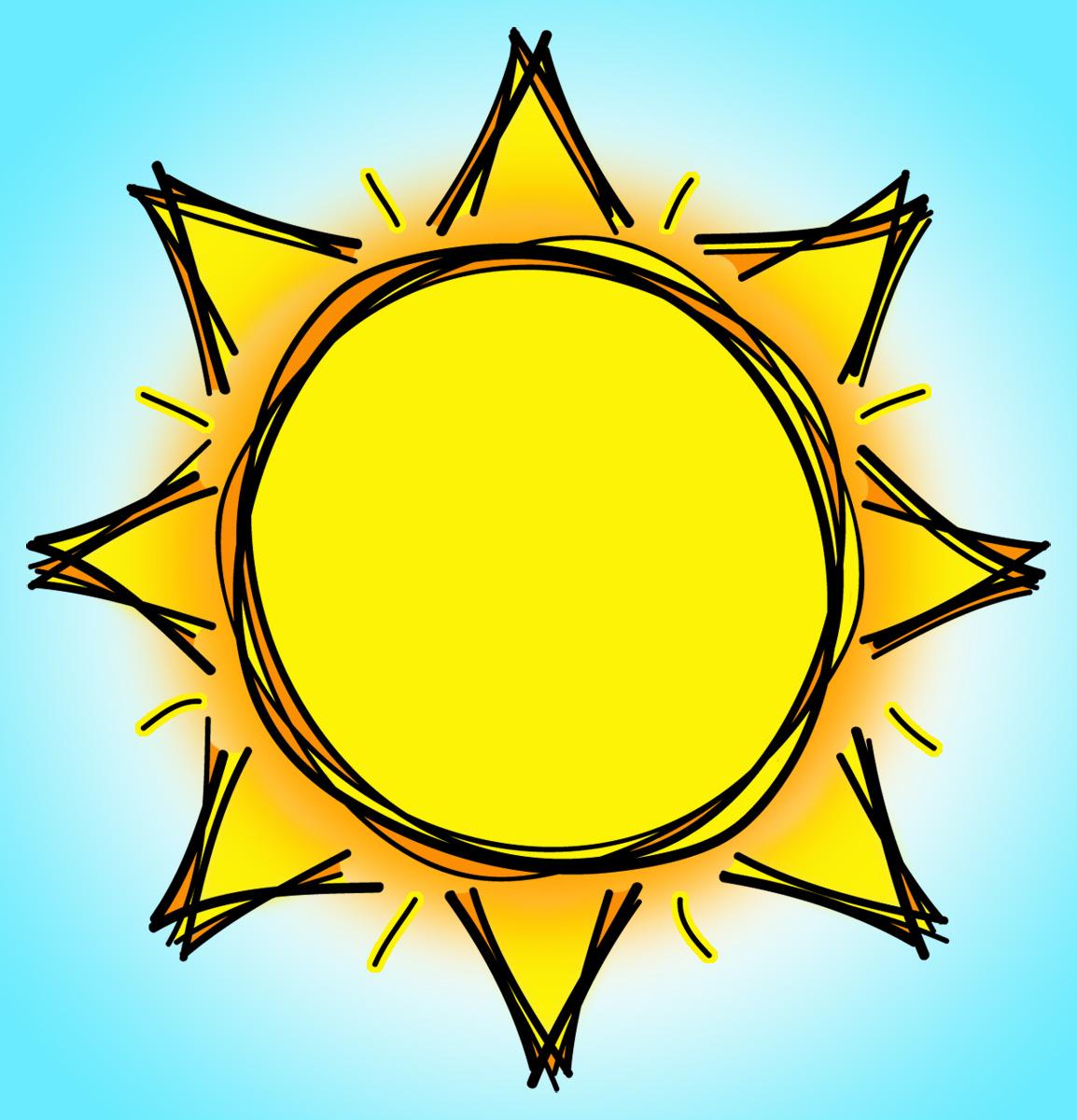 clipart of sun - photo #44