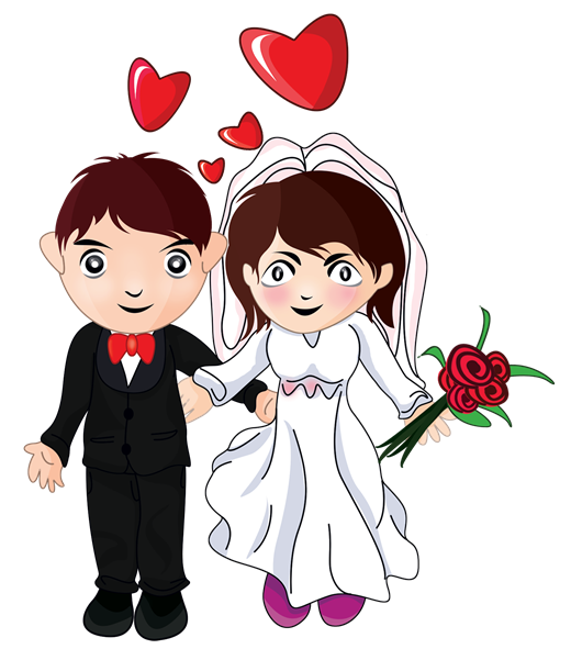 Wedding Cartoon - Cliparts.co