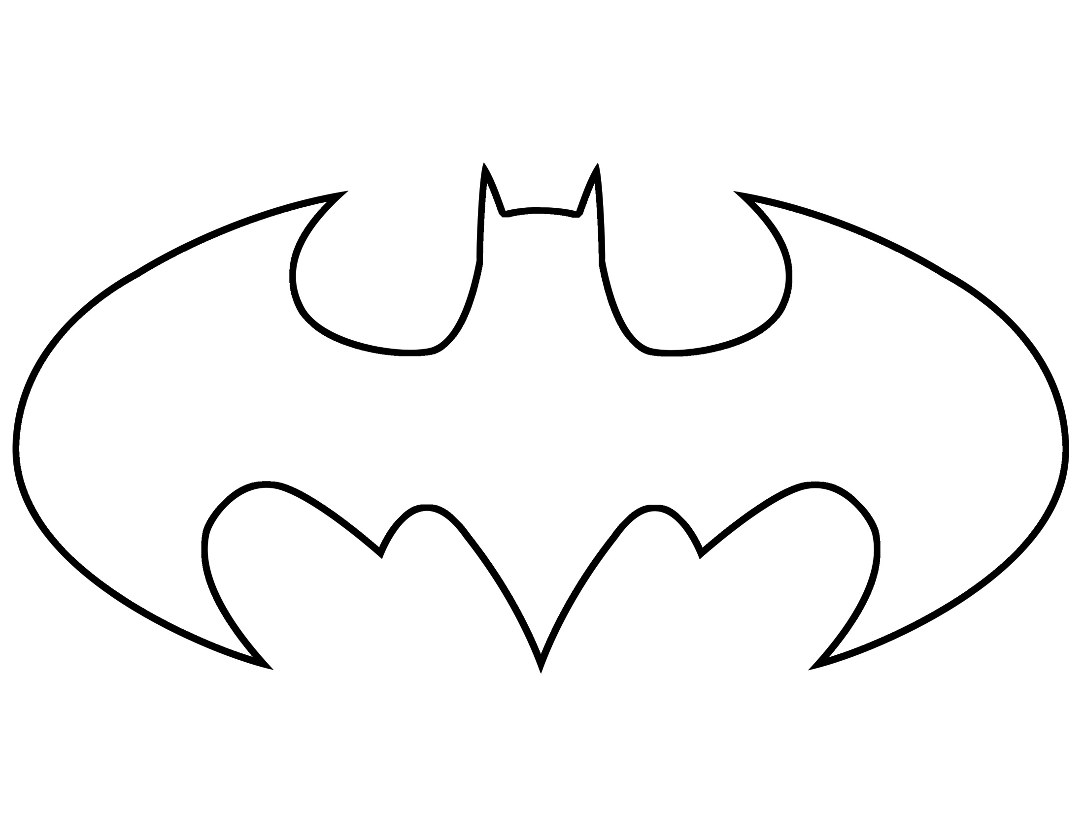 coloring pages batman printable template - photo#5
