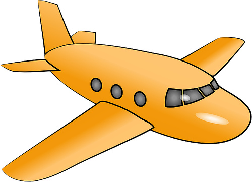small airplane clipart free - photo #43