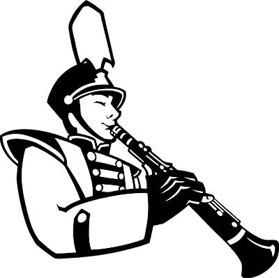 Marching Band Clipart Clarinet Marching Band Clip Art