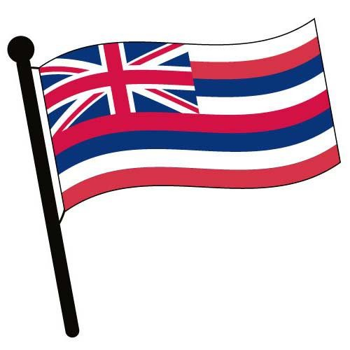 Hawaiian Flag Clip Art - Cliparts.co