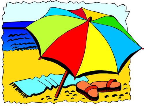 Related Pictures Beach Umbrella 5 Clipart Clip Art Car Pictures