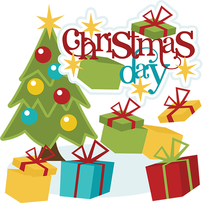 Christmas Day SVG christmas day clipart christmas day scrapbook ...