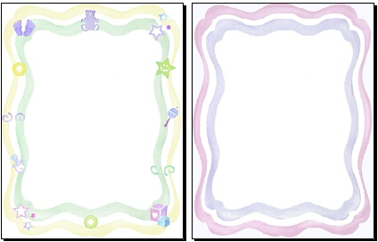 Baby Page Borders - ClipArt Best