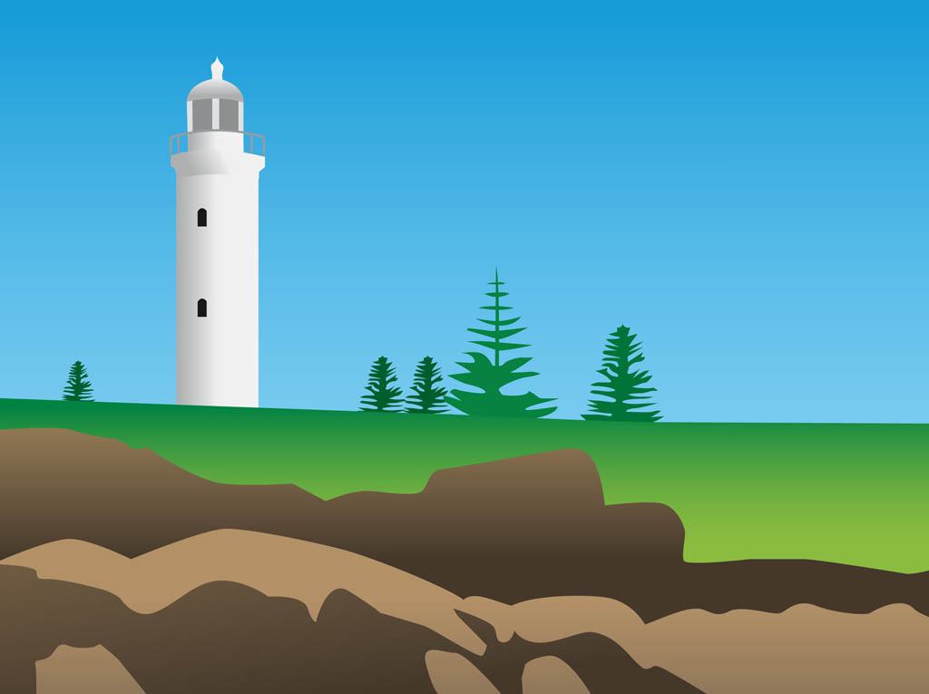 Free Lighthouse Vectors