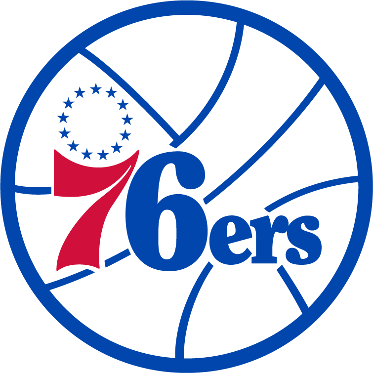 History of All Logos: All Philadelphia 76ers Logos