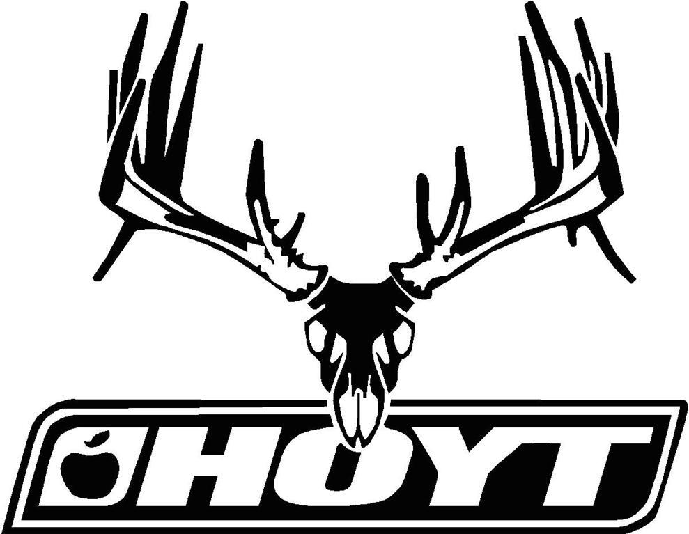 White Tail Deer Sckull Drawn: Buck Deer Clip Art