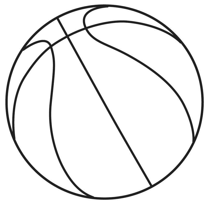 Line Art Basketball : The gallery for gt basketball ball lines