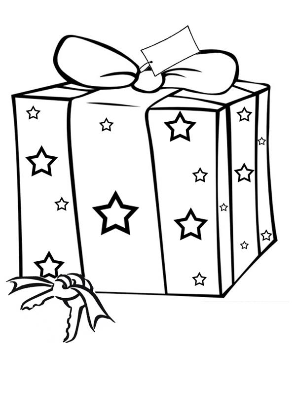 Images Of Christmas Presents Cliparts Co Present Printable Coloring Pages