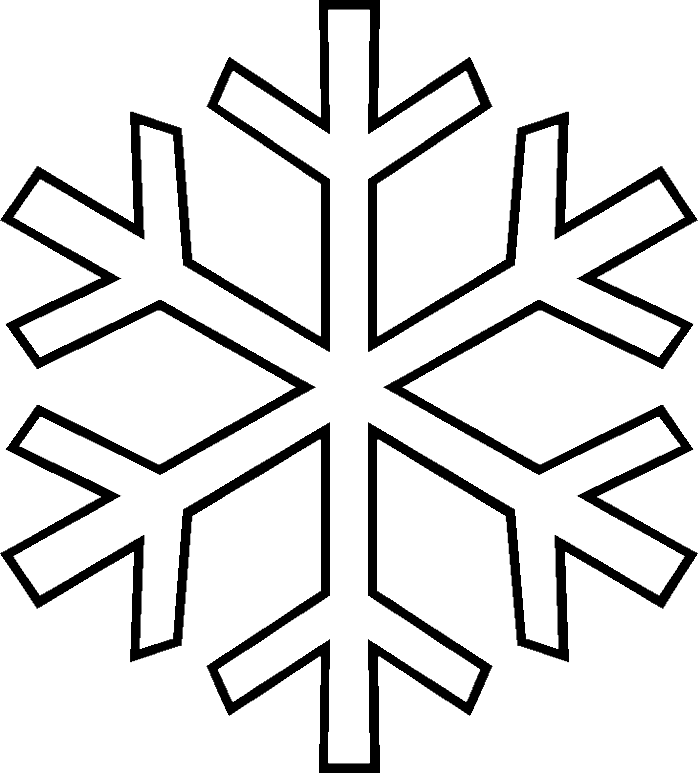 winter cut out coloring pages - photo#3