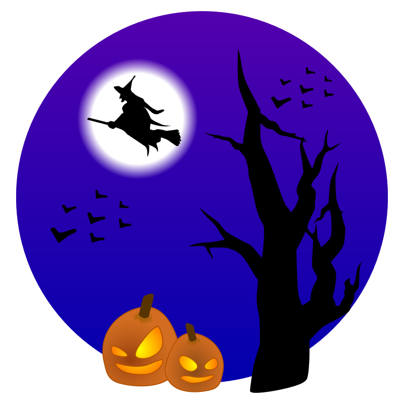 Halloween Clip Art Witch - Cliparts.co
