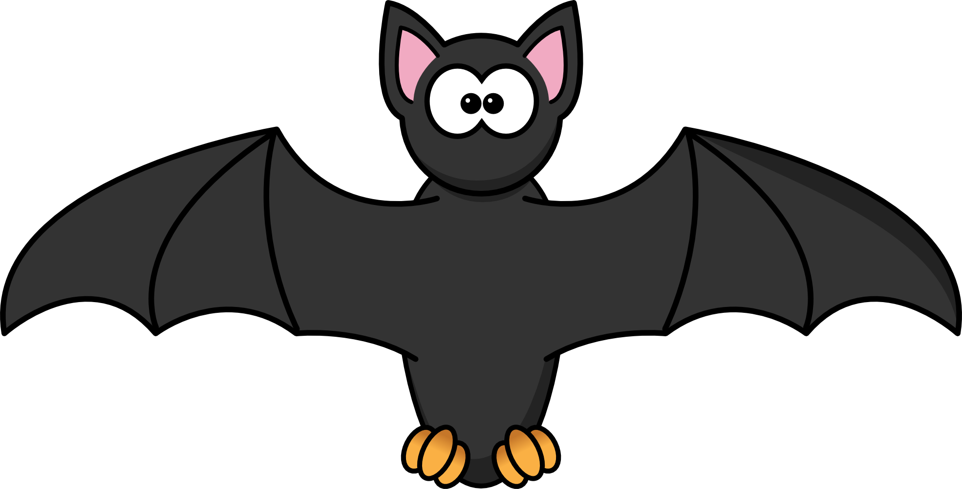 Halloween Bat Clipart - Cliparts.co