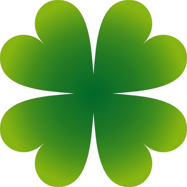 Pierig Four Leaf Clover clip art - vector clip art online, royalty ...
