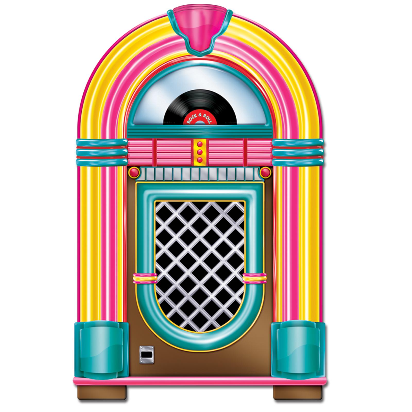 1950's Jukebox Centerpiece | | Clipart Panda - Free Clipart Images