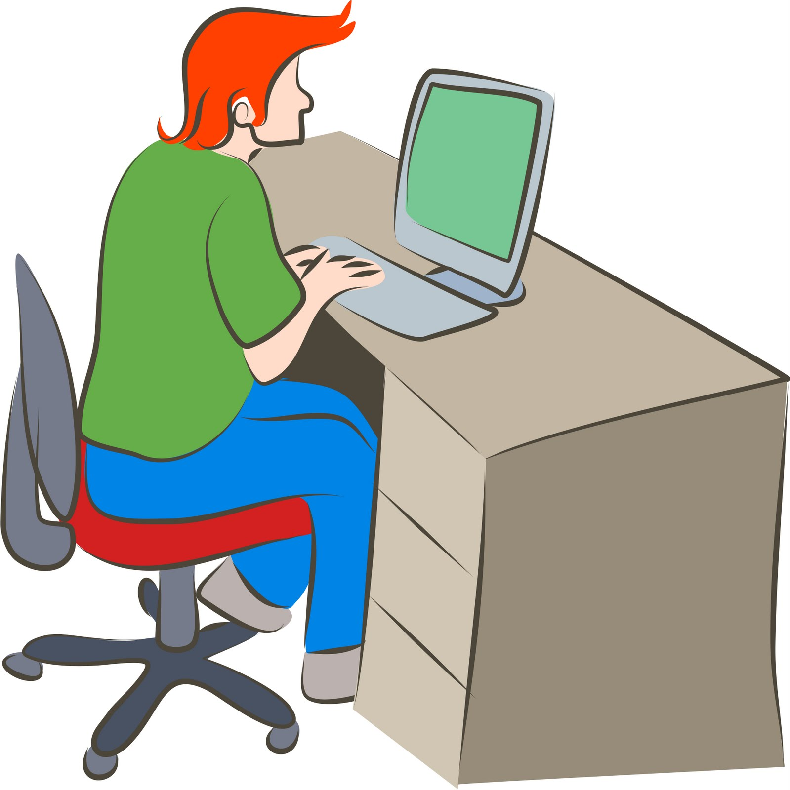 computer work clipart - photo #14