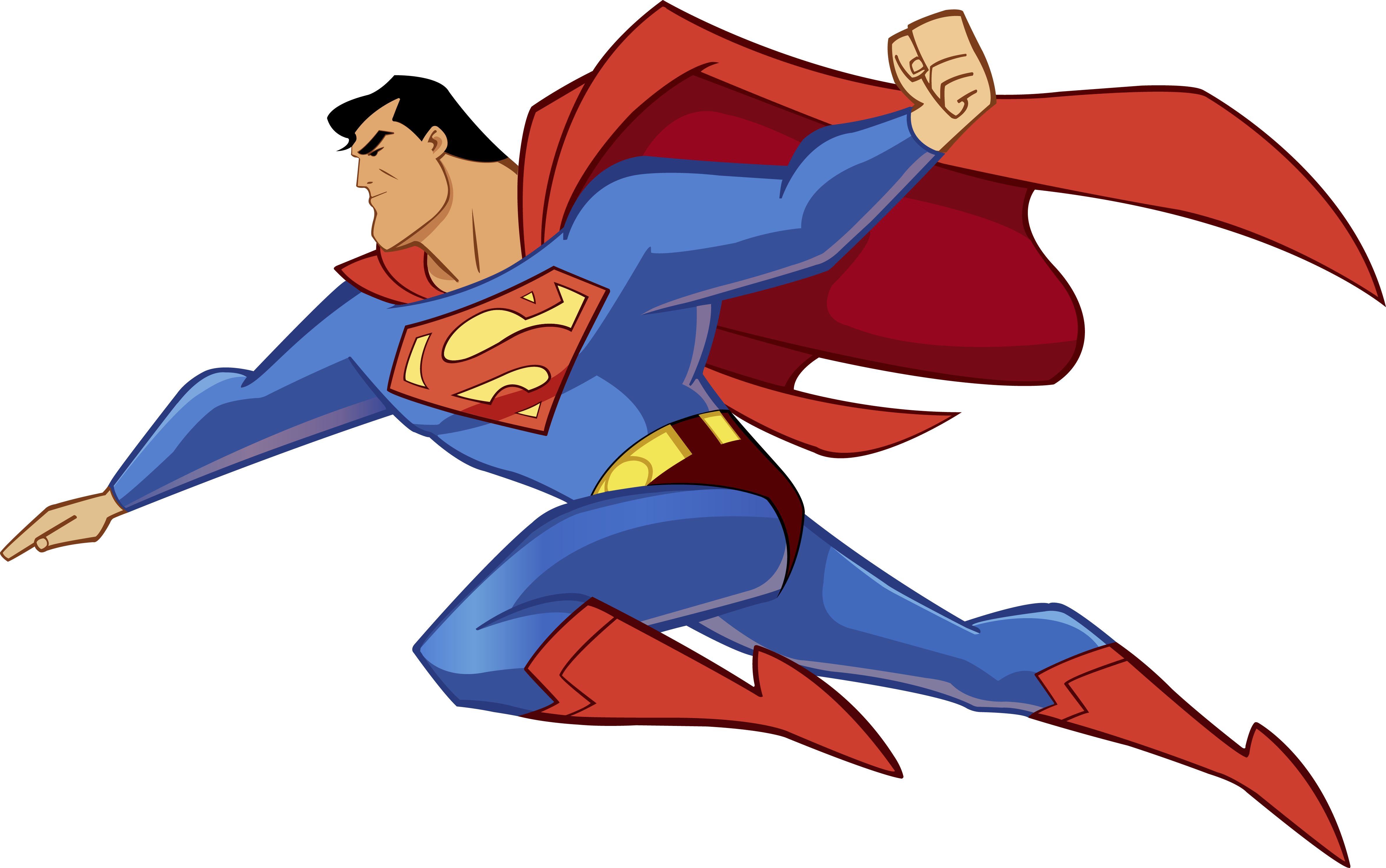 clipart superman flying - photo #19