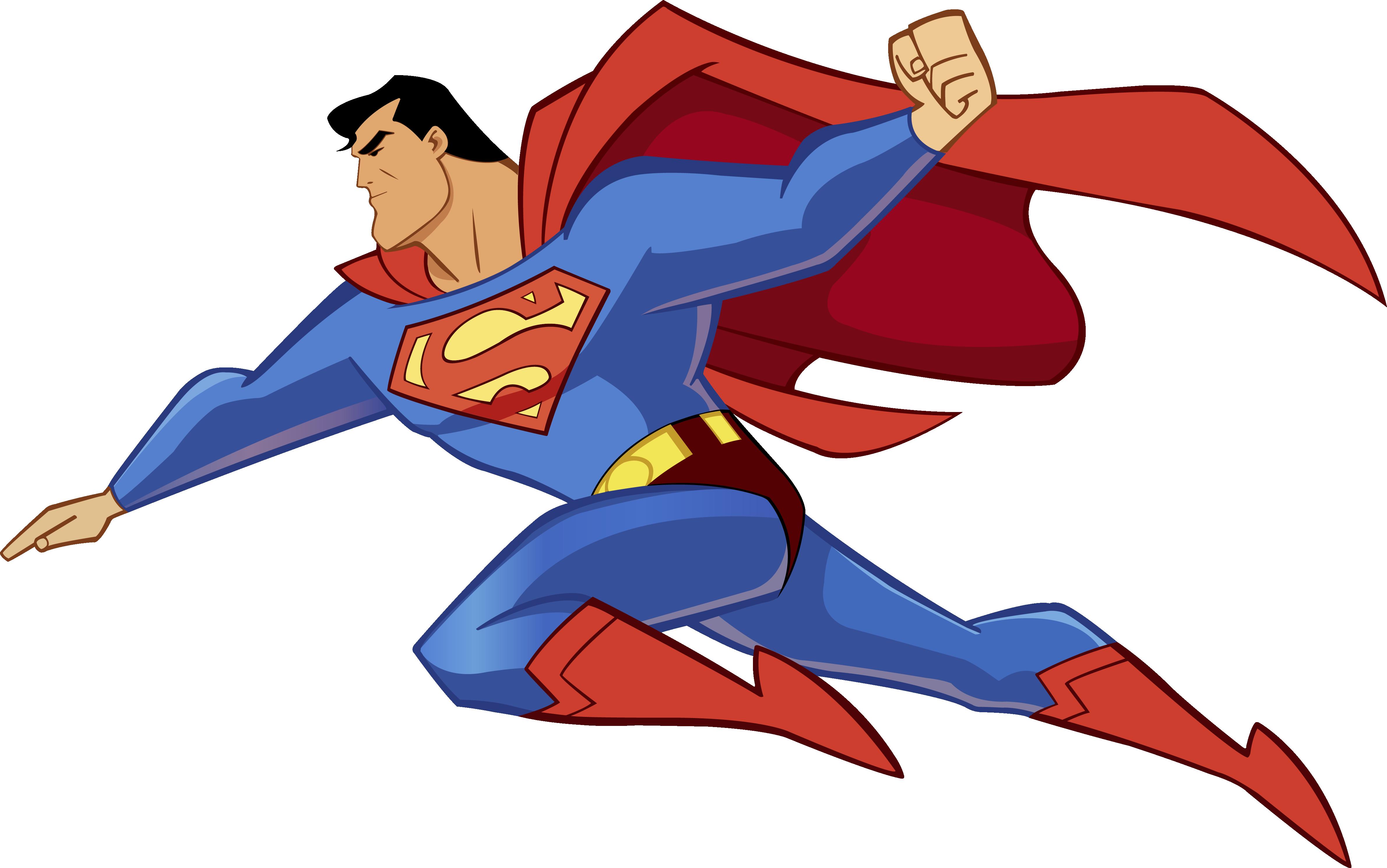 animated superman clipart - photo #3